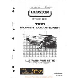 Hesston 1160 Mower