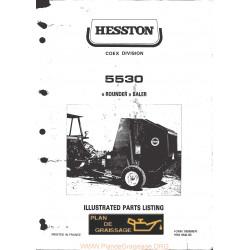 Hesston 5530 Round Baler