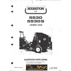 Hesston 5530 S Round Baler
