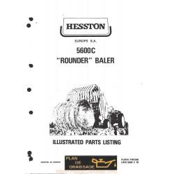 Hesston 5600 C Round Baler