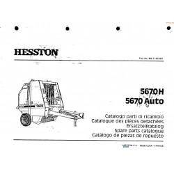 Hesston 5670 H Auto Pieces
