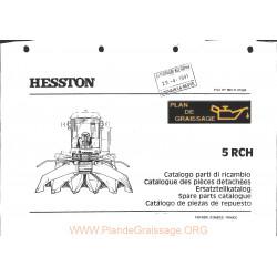 Hesston 5rch Header