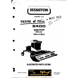 Hesston 6400 Header