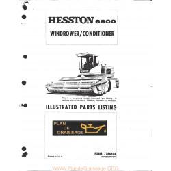 Hesston 6600 Windrower Conditioner