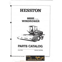 Hesston 6650 E Windrower