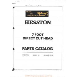 Hesston 7 Foot Direct Cut Head Header
