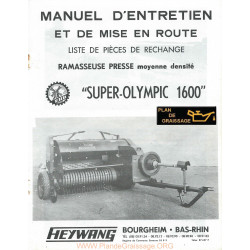 Heywang Super Olympic 1600 Ramasseause