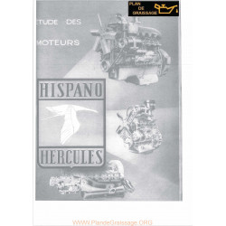 Hispano Hercules Moteur