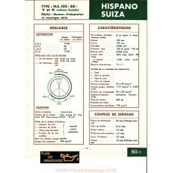 Hispano Suiza Hs102 60v H Moteur