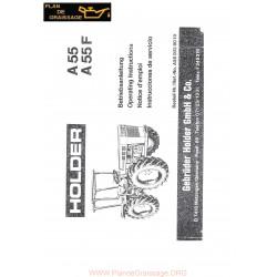 Holder A55 F Notice