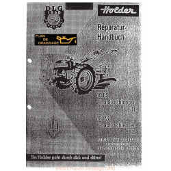 Holder E11 E12 Livret Motoculteurs