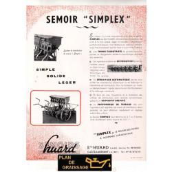 Huard Semoir Simplex