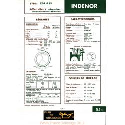 Indenor Xdp6 85 Moteur