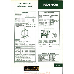 Indenor Xdp6 88 Moteur
