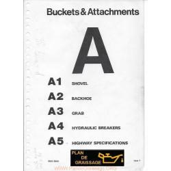 Jcb 3c 3d Buckets Attachments