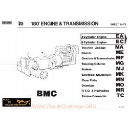 Jcb Moteur Transmission M124999