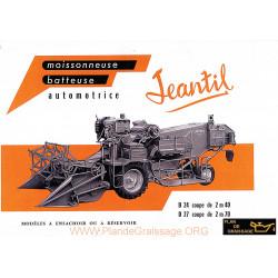 Jeantil D 24 27 Moissonneuses