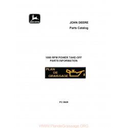 John Deere 1000 Rpm Power