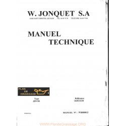 Jonquet Jdv1b Debroussailleur