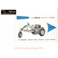 Kiva D4 12cv Diesel Tracteur