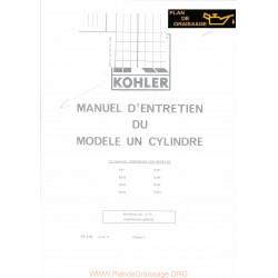Kohler K91 K141 K161 K181 K241 K301 K321 K341 Moteur