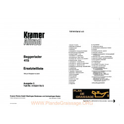 Kramer 415 Et Baggerlader