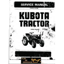 Kubota B6000 Tracteur