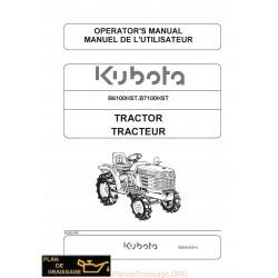 Kubota B6100hst B7100hst Tracteur
