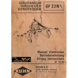 Kuhn Gf 23 N Girofaneur