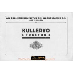 Kullervo Tracteur