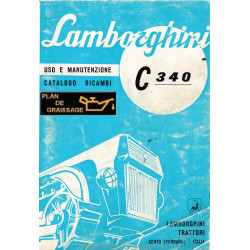 Lamborghini C340 Catalogue Vues Eclatees Chenillards