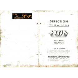 Latil R5 Tl9 Tl10 Direction