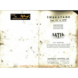 Latil Tl10 Embrayage