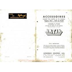 Latil Tl7 Tl9 Tl10 Accessoires