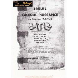 Latil Tl9 10 Tl1o Treuil