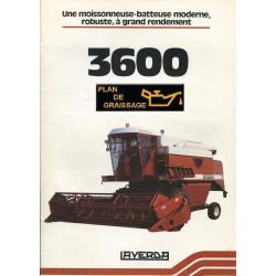 Laverda 3600 Moissonneuse Batteuse