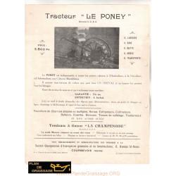 Le Poney Pub Motoculteurs