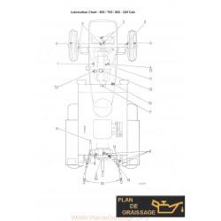 Leyland Tractor Lubrication Chart 602 702 802 Qm Cab
