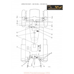 Leyland Tractor Lubrication Chart 604 704 804 Explorer Cab