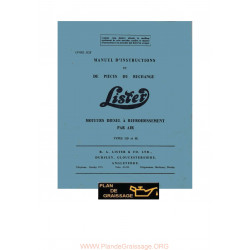 Lister Ld Sl Pieces De Rechange