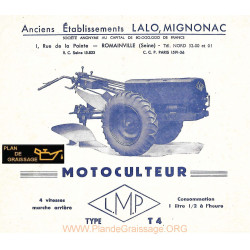 Lmp T4 Motoculteurs