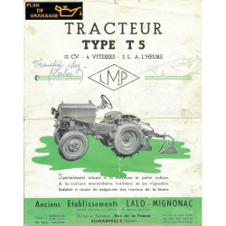 Lmp T5 4v 12cv Tracteur