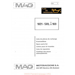 Mag 1021 Srlx 169 Motoculteurs