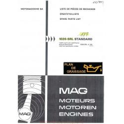 Mag 1026 Srlx 109 Moteur