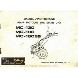 Mametora 130 180 Sb Motoculteurs