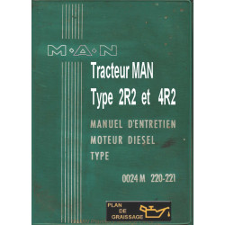 Man 2r2 4r2 Tracteur