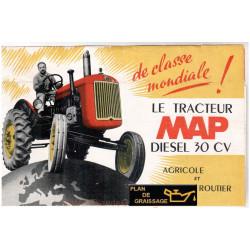 Map Dr3 30cv Tracteur