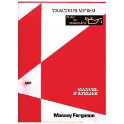 Massey Ferguson 1200 Manuel Entretien