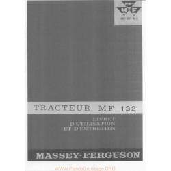 Massey Ferguson 122 Tracteur