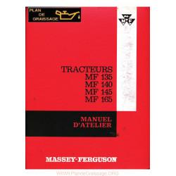 Massey Ferguson 135 140 145 165 Manuel entretien